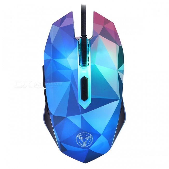 6b40832db7d W39 Dazzle Color Diamond Edition 3200DPI USB Wired Gaming Mouse with  7-Color Breathing LED Light - Free shipping - DealExtreme