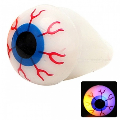YWXLight Halloween Bar Dance Props Horrible Eyes LED Glow Finger Ring Light