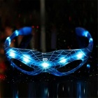 YWXLight LED Spiderman Luminous Glasses for Halloween Party - Blue