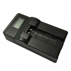 Ismartdigi 9L LCD USB Camera Battery Charger for Canon NB-9L - Black