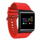 Buy DMDG Waterproof 0.95 inch Colour Screen Bluetooth V4.0 Smart Sports Wristband Watch Blood Pressure, Heart Rate Monitor - Red