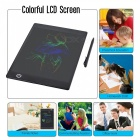9.7 Inches Color LCD Writing Pad Digital Drawing Tablet, Electronic Graphic Board with Stylus - Black