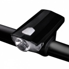 W098 Mini IPX4 Waterproof USB Rechargeable Bicycle Light Headlight, Cycling Lamp - Black