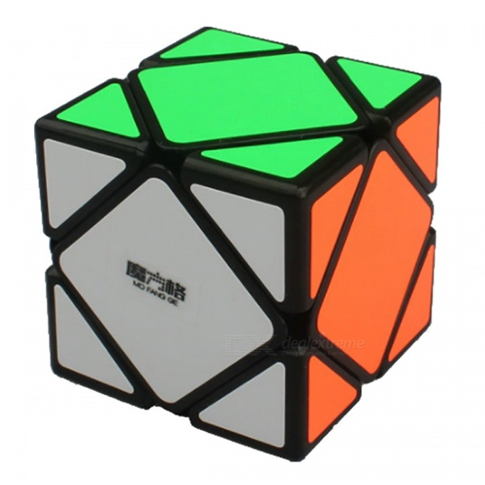 MoFangGe Skewb Speed Cube Smooth Magic Cube Puzzles Toy - 57mmMagic IQ Cubes<br>Form  ColorBlack(57mm)ModelN/AMaterialABSQuantity1 pieceTypeOthersSuitable Age 3-4 years,5-7 years,8-11 years,12-15 years,Grown upsPacking List1 x Magic Cube<br>