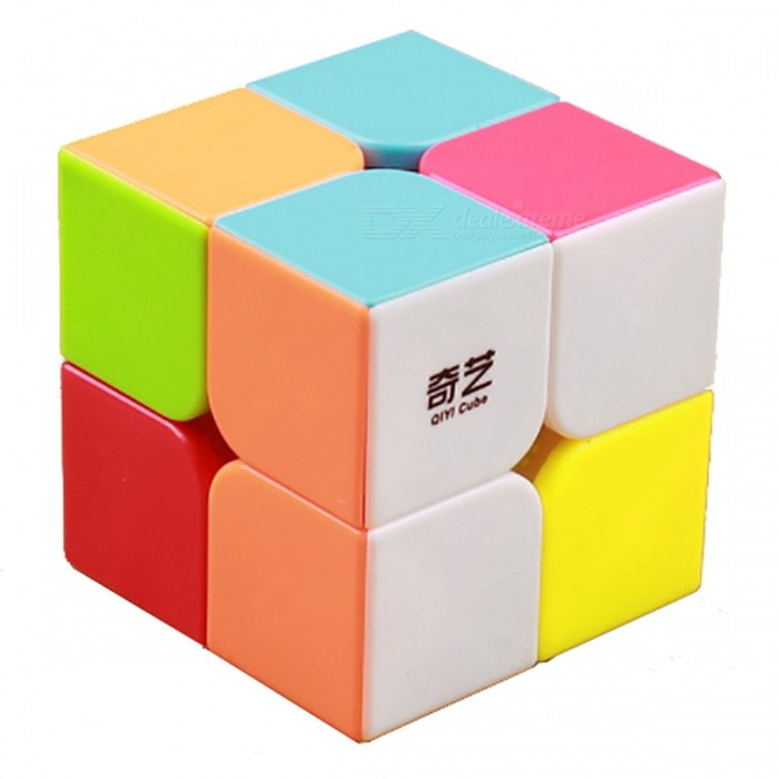 QiYi MoFangGe QiDi Speed Cube 2x2 Smooth Magic Cube Puzzles Toy - 51mmMagic IQ Cubes<br>Form  ColorMulticolourModelN/AMaterialABSQuantity1 DX.PCM.Model.AttributeModel.UnitTypeOthers,2x2x2Suitable Age 3-4 years,5-7 years,8-11 years,12-15 years,Grown upsPacking List1 x Magic Cube<br>