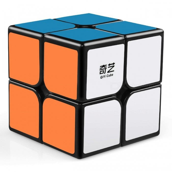 QiYi MoFangGe QiDi Speed Cube 2x2 Smooth Magic Cube Puzzles Toy - 51mmMagic IQ Cubes<br>Form  ColorBlack(51mm)ModelN/AMaterialABSQuantity1 pieceTypeOthers,2x2x2Suitable Age 3-4 years,5-7 years,8-11 years,12-15 years,Grown upsPacking List1 x Magic Cube<br>