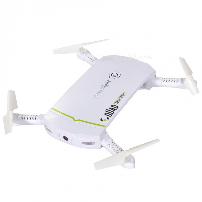 Easy Eight X-102 Mini Foldable Wi-Fi FPV RC Helicopter Drone Quadcopter with Camera - White