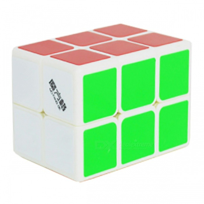 MoFangGe 44x44x60mm 2x2x3 Smooth Speed Magic Cube Puzzles Toy for Kids, Adults - White