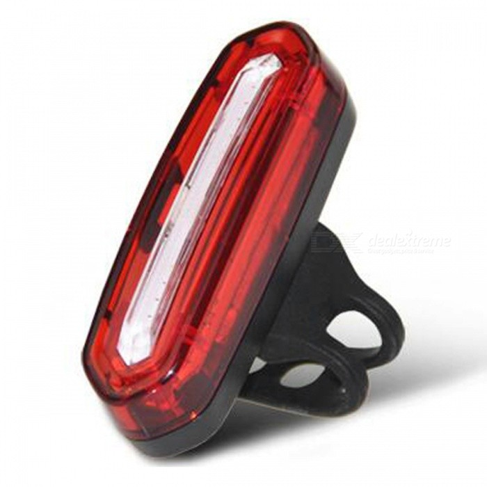 100LM USB Rechargeable COB LED Mountain Bike MTB Safety ...