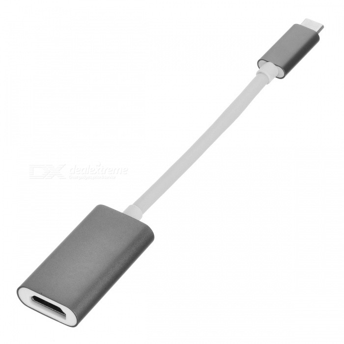 BSTUO Aluminium Alloy 4Kx2K HD USB3.1 Type-C to HDMI Adapter - GreyLaptop/Tablet Cable&amp;Adapters<br>Form  ColorGreyModelN/AQuantity1 DX.PCM.Model.AttributeModel.UnitShade Of ColorGrayMaterialAluminium alloyInterfaceOthers,USB3.1 type-c/HDMITypeLaptopsCompatible BrandAPPLE,Dell,HP,Toshiba,Acer,Lenovo,Samsung,Sony,IBM,Asus,ThinkpadCompatible ModelUSB3.1 type-c universialTransmission Rate10 DX.PCM.Model.AttributeModel.UnitPacking List1 x USB3.1 Type-C to HDMI Adapter<br>
