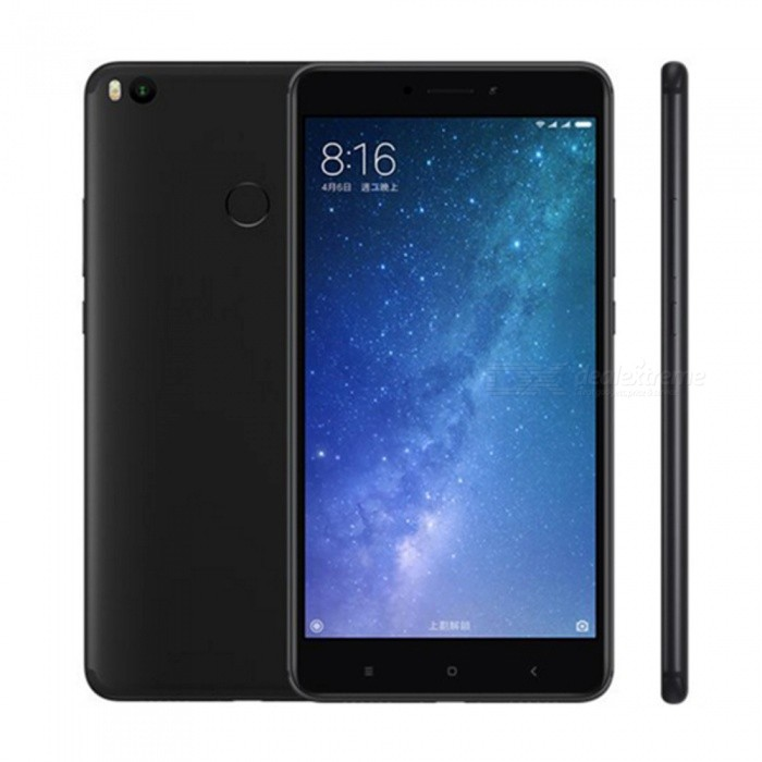 "Xiaomi Mi Max 2 Android 7.1 4G Phone w/ 4GB RAM 64GB ROM, Black. 6.44"" Immersive Display, 5300mAh, QC 3.0, Metal Unibody"