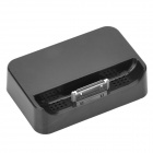 Charging Docking Station with 3.5MM Line Out for iPhone 4 - Black