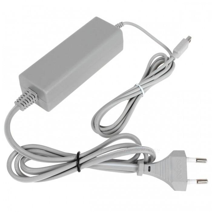 Kitbon Wall AC Power Supply Adapter Charger w/ Cable for Nintendo Wii U Gamepad Remote Controller (EU Plug)Batteries &amp; Chargers<br>Form  ColorEU PlugQuantity1 DX.PCM.Model.AttributeModel.UnitMaterialABSShade Of ColorGrayCompatible ModelsOthers,Wii U GamePadInput Voltage100~240 DX.PCM.Model.AttributeModel.UnitOutput VoltageOthers,4.75 DX.PCM.Model.AttributeModel.UnitOutput Current1.6 DX.PCM.Model.AttributeModel.UnitInput Hertz50/60 DX.PCM.Model.AttributeModel.UnitPower AdapterEU PlugPacking List1 x Power Adapter<br>