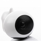 KELIMA F2 Portable Mini Puppy Bluetooth Wireless Speaker Subwoofer - White