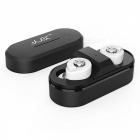 Brutus T8 Mini Twins True Stereo TWS Bluetooth 4.1 Wireless Earbuds Headset with Charging Box - White