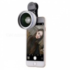 2-in-1 0.45X Wide Angle Macro Lens Universal Mobile Phone Lens - Silver