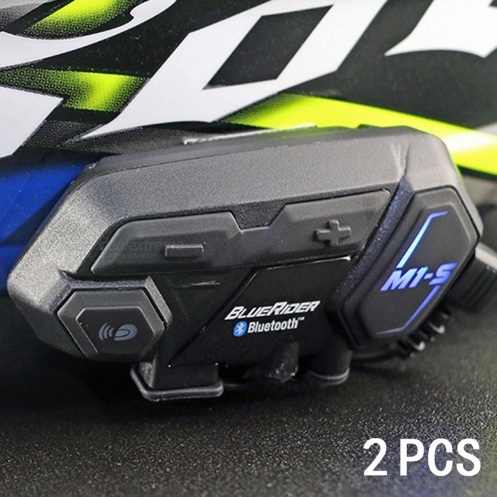 ENKLOV M1-S 6-Rider Bluetooth V4.1 Interphone for Motorcycle Helmet - Black (2 PCS)Motorcycle Interphone<br>Form  ColorBlack (2 PCS)ModelM1-SQuantity1 DX.PCM.Model.AttributeModel.UnitMaterialABSBluetooth VersionOthers,Bluetooth V4.1Transmit Distance500 DX.PCM.Model.AttributeModel.UnitIntercom Effective Distance500 DX.PCM.Model.AttributeModel.UnitBuilt-in Battery Capacity 600 DX.PCM.Model.AttributeModel.UnitWaterproof FunctionYesInterface1 x mini USB,1 x micro USB,Others,1 x 2.5mmPacking List2 x M1-S Interphones4 x Big velcros2 x Rectangle velcros2 x 2.5mm to 3.5mm Audio cables2 x Speakers2 x Soft microphones2 x Microphones2 x USB cables2 x EVA rubbers6 x 3m Dual locks<br>