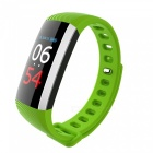 G19 Smart Bracelet with Heart Rate Monitor, Pressure Blood Oxygen Monitor - Green