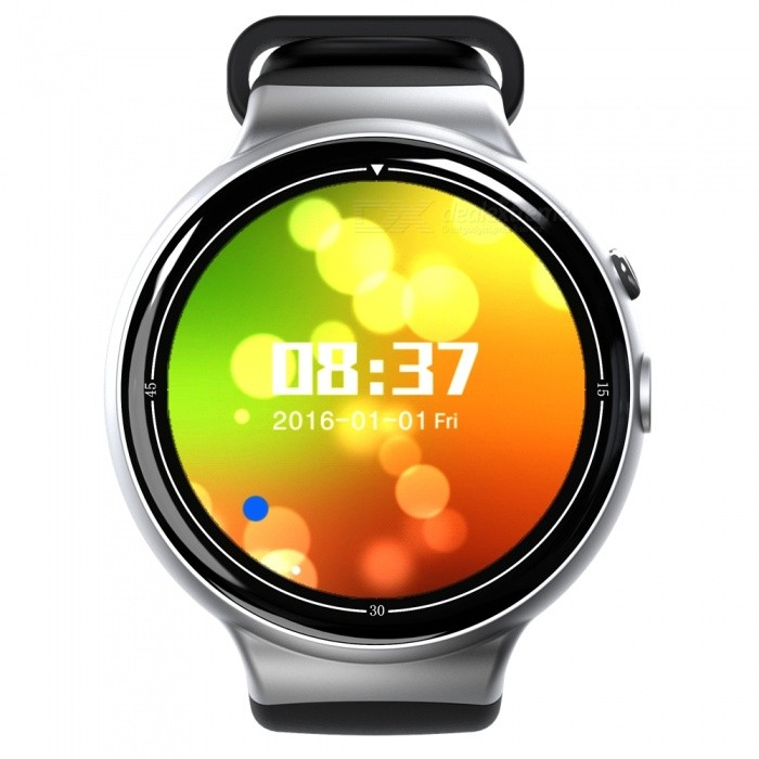 I4 AIR Ultra Thin SIM HD 2.0MP Smart Watch with Pedometer, Heart Rate Monitor, Recorder - Silver GreySmart Watches<br>Form  ColorSilver Grey + Black + Multi-ColoredQuantity1 DX.PCM.Model.AttributeModel.UnitMaterialABSShade Of ColorBlackCPU ProcessorMTK6580, 1.3GHZ Quad-coreScreen Size1.4 DX.PCM.Model.AttributeModel.UnitScreen Resolution400 * 400Touch Screen TypeYesNetwork Type2G,3GCellularWCDMA,GSMSIM Card TypeNano SIMBluetooth VersionBluetooth V4.0Compatible OSAndroid 5.1LanguageSupport more than 84 kind of languages like Simplified Chinese, Traditional Chinese, English, French, Russian, German, Dutch, Portuguese, Arabic, Persian, Brazilian, Malaysia, Italian, Turkish, Thai, Vietnamese, Indonesian , Indian, Greek, Spanish, Czech etcWristband Length22 DX.PCM.Model.AttributeModel.UnitWater-proofIP65Battery ModeNon-removableBattery TypeLi-polymer batteryBattery Capacity350 DX.PCM.Model.AttributeModel.UnitStandby Time72 DX.PCM.Model.AttributeModel.UnitPacking List1 x I4 AIR Smart Watch1 x USB Cable1 x Charging dock1 x User Manual1 x Screwdriver<br>