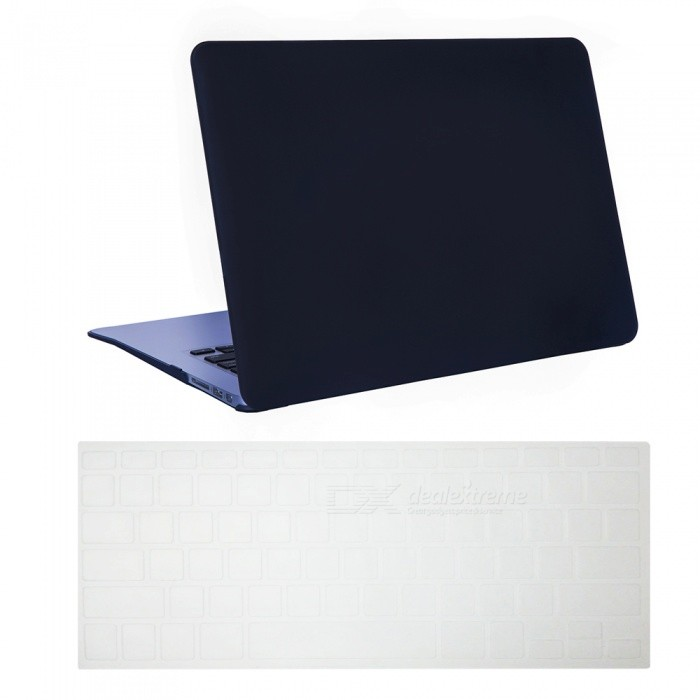Dayspirit Ultra Slim Matte Hard Case + Keyboard Cover for MacBook Air 13.3 A1369/A1466 - BlackNetbook&amp;Laptop Cases<br>Form  ColorBlackModelN/AQuantity1 DX.PCM.Model.AttributeModel.UnitShade Of ColorBlackMaterialPCCompatible ModelMacBook Air 13.3Compatible BrandAPPLETypeFull Body CasesStyleBusiness,Casual,Fashion,ContemporaryCompatible Size13.3 inchPacking List1 x Hard shell (top + bottom)1 x Keyboard cover<br>