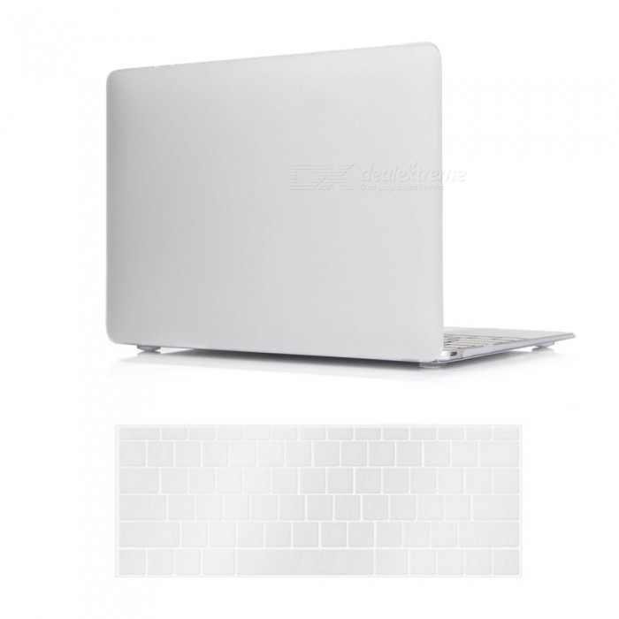 Dayspirit PC Matte Case + Keyboard Cover for MACBOOK 12 A1534 - WhiteNetbook&amp;Laptop Cases<br>Form  ColorWhiteModelN/AQuantity1 DX.PCM.Model.AttributeModel.UnitShade Of ColorWhiteMaterialPCCompatible ModelMacBook 12 inchCompatible BrandAPPLETypeFull Body CasesStyleBusiness,Casual,Fashion,ContemporaryCompatible SizeOthers,12 inchPacking List1 x Hard shell (top + bottom)1 x Keyboard cover<br>