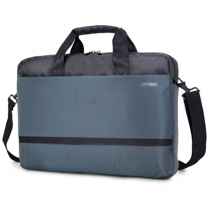 DTBG Portable 15.6 Inch Computer Handbag Laptop Bag, Men Womens Notebook Briefcase for Apple Macbook IPADBags and Pouches<br>Form  ColorBlue + GreyModelD8017WQuantity1 setShade Of ColorBlueMaterialNylonCompatible Size15.6 inchTypeMessengers,Tote BagsPacking List1 x Shoulder Bag<br>