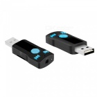 BC07 Bluetooth V3.0+EDR Audio Adapter - Black + Blue
