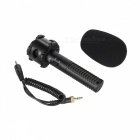 BOYA BY-PVM50 Portable SLR Camera Stereo Microphone - Black