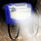 ZHAOYAO Waterproof Multifunctional COB 3-Mode Headlight - Blue (3 x AAA Batteries Not Included)