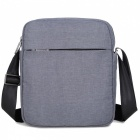 DTBG Famous 9.7 Inch Unisex Casual Shoulder Messenger Crossbody Bag for IAPD Air 2 - Grey