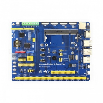 Waveshare Compute Module IO Board Plus for Raspberry Pi CM3, CM3L