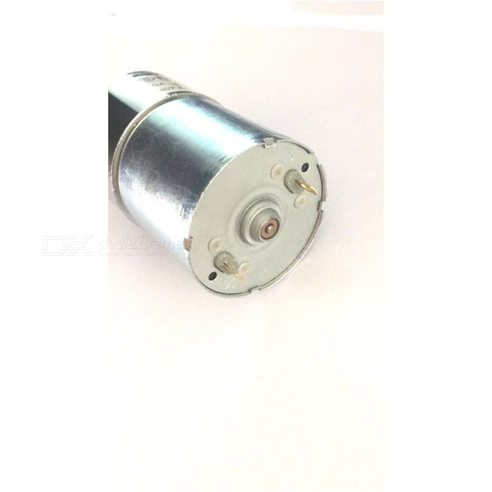 Zhaoyao 37rg dc 12v 200rpm micro gear box motor speed for Electric motor reduction gearbox