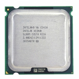 Intel Xeon E5450 Quad-Core 3.0GHz 12MB SLANQ SLBBM Processor Works on LGA 775 Mainboard No Need Adapter