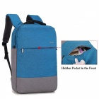 DTBG D8018W 15.6 Inch Nylon School Backpack, Computer Laptop Bag for Apple Macbook - Blue