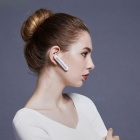 QCY Q30 Stylish Bluetooth V4.2 Wireless Earphone Headset Headphone with Microphone - White