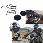Motorbike Motorcycle Helmet Speakers with Volume Control for MP3 MP4 GPS Cellphones Mobile Phones