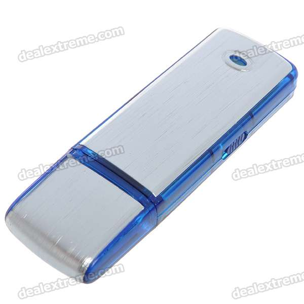 USB Rechargeable Flash Drive Voice Recorder (8GB)