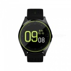 V9 Bluetooth Smart Watch Phone Support 2G Micro SIM Card, With Camera, Pedometer, Heart Rate Monitoring - Black
