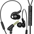 Buy NUBWO NY51 Sports Waterproof Headset Bass Headphones In-ear Earphone MIC IPHONE, Samsung, Xiaomi, Huawei, Sony - Black