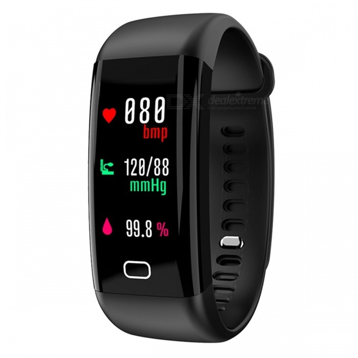 F07 Smart Bluetooth Bracelet with Heart Rate Monitor, Pedometer, Sports Fitness Tracker - BlackSmart Bracelets<br>Form  ColorBlackQuantity1 DX.PCM.Model.AttributeModel.UnitMaterialABSShade Of ColorBlackWater-proofIP68Bluetooth VersionBluetooth V4.0Touch Screen TypeYesCompatible OSAndroid 4.4&amp; above ,iOS 7.1 &amp; aboveBattery Capacity110 DX.PCM.Model.AttributeModel.UnitBattery TypeLi-polymer batteryStandby Time5-7 DX.PCM.Model.AttributeModel.UnitPacking List1 x Smart Bracelet1 x User Manual<br>