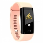 F07 Smart Bluetooth Bracelet with Heart Rate Monitor, Pedometer, Sports Fitness Tracker - Pink