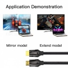 VENTION HDMI to HDMI 2.0 4K 3D 60FPS Cable for HD TV LCD Laptop PS3 Projector Computer - Black