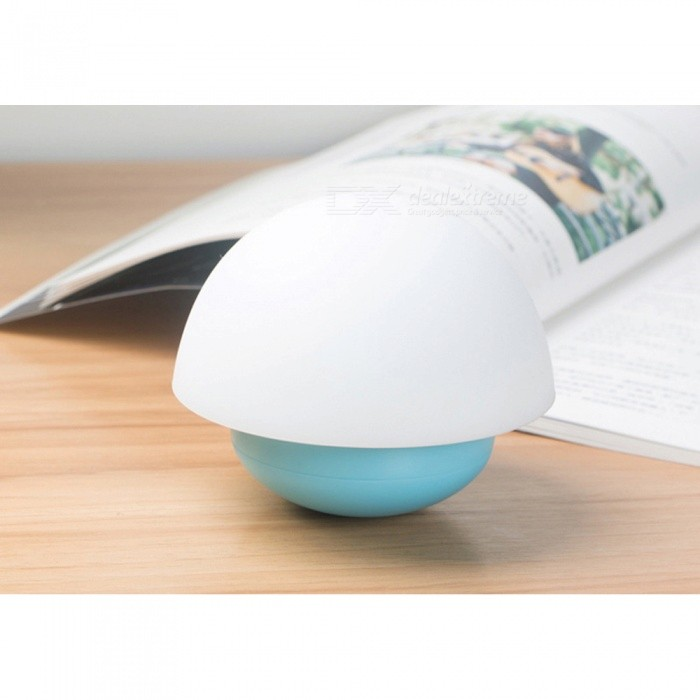 P-TOP 5W Tumbler Mushroom Shape Atmosphere USB Baby Sleep Night Light, Touch Induction Sensor Light - BlueLED Nightlights<br>Form  ColorBlueMaterialPVCQuantity1 DX.PCM.Model.AttributeModel.UnitPower5WRated VoltageOthers,5 DX.PCM.Model.AttributeModel.UnitColor BINWarm WhiteEmitter TypeLEDActual Lumens50 DX.PCM.Model.AttributeModel.UnitColor Temperature2000KDimmableYesBeam Angle365 DX.PCM.Model.AttributeModel.UnitInstallation TypeOthers,-Packing List1 x Tumbler Light1 x Manual<br>