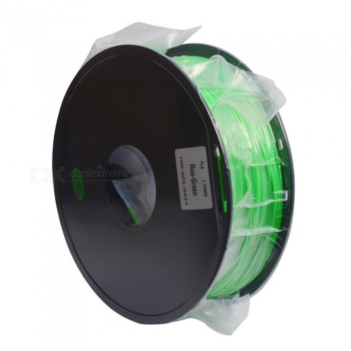 Geeetech 3D Printer Supplies Filament RepRap PLA 1KG - Green3D Printer Supplies<br>Form  ColorGreenModelPLAQuantity1 DX.PCM.Model.AttributeModel.UnitMaterialPLADiameter1.75 DX.PCM.Model.AttributeModel.UnitPacking List1 x PLA 1kg<br>