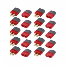 10 Pairs AMASS Deans T Plug Connector Male Female Set for RC Car FPV Racing Quadcopter Multirotor Airplane