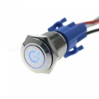 IZTOSS S2854 12V 16mm LED Metal Button Switch for Auto / RV Refit