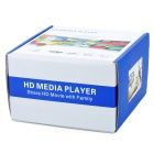 1080P Full HD Media Player with AV/HDMI/USB/SD/MMC (Silver)