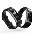 "G18 0.96"" PMOLED Full Touch Optical Smart Bracelet with Heart Rate Monitor - Black"
