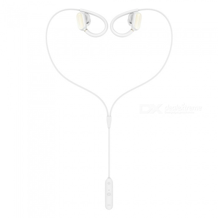 Xiaomi Mini Sports Bluetooth Earphone Headset with Mic - WhiteHeadphones<br>Form  ColorWhiteBrandXiaomiModelYDLYEJ02LMMaterialSilica gelQuantity1 DX.PCM.Model.AttributeModel.UnitConnectionBluetoothBluetooth VersionBluetooth V4.1Headphone StyleBilateral,In-EarWaterproof LevelIPX4Applicable ProductsUniversalHeadphone FeaturesPhone Control,Long Time Standby,Volume Control,With Microphone,Lightweight,For Sports &amp; ExerciseSupport Memory CardNoSupport Apt-XYesPacking List1 x Bluetooth headset5 x Ear caps (large, medium and small three-style closed-style music ear cap, medium and small size of two anti-hearing ear caps)1 x Charging line1 x Brochures and three packs of vouchers (Simplified Chinese)<br>