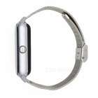DMDG Bluetooth Smart Watch with Stainless Steel Strap, Camera, Call SMS Reminder, Sleep Monitor, Pedometer, Support SIM TF Card